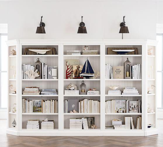 Aubrey 36 X 84 Tall Bookcase Pottery Barn