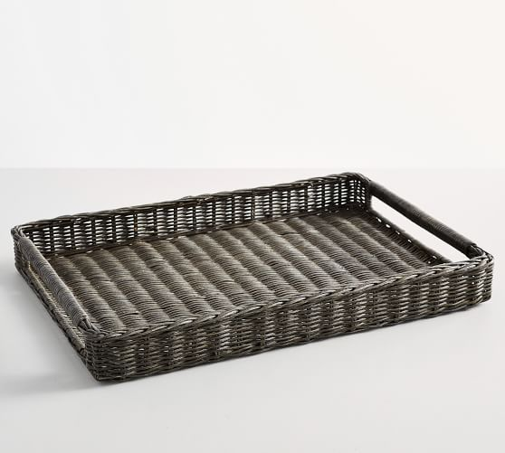 Handwoven Tray with Handles