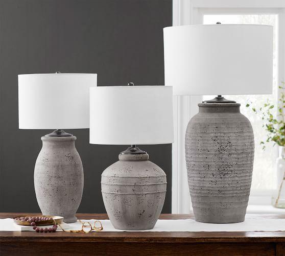 Maddox Terra Cotta Table Lamp