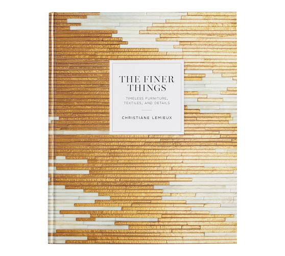 The Finer Things Coffee Table Book