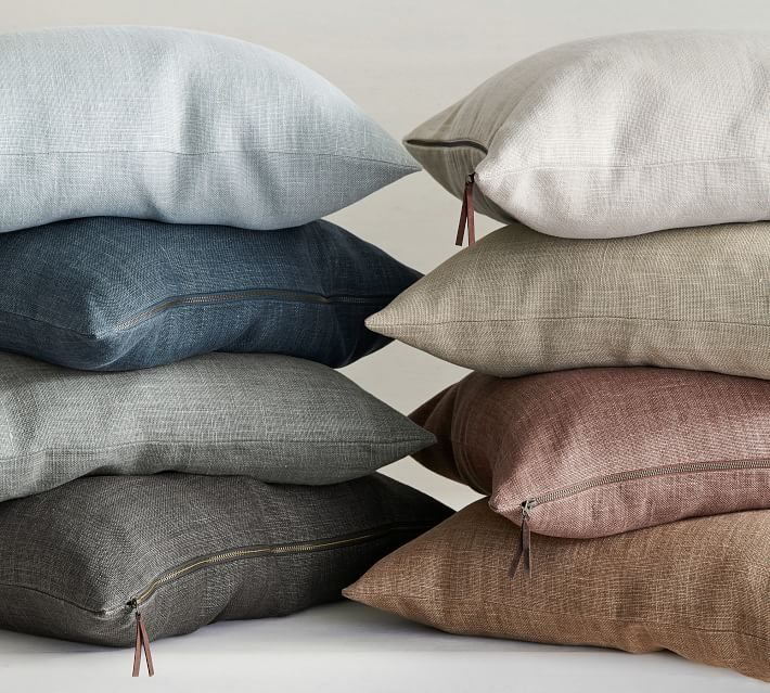 Belgian Linen Pillow Covers Made with Libeco™ Linen