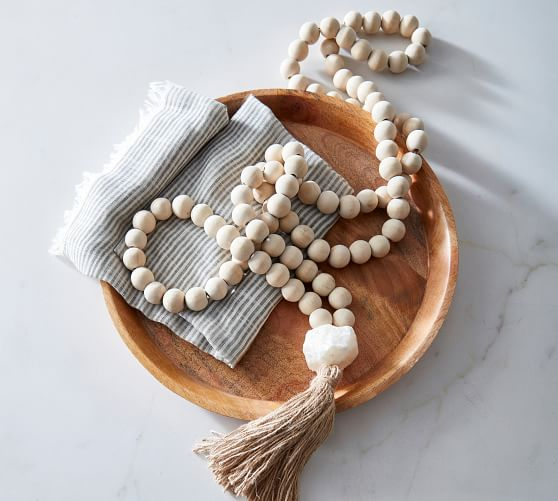 Mango Wood Contentment Beads