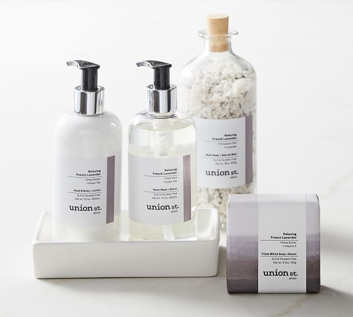 Union St. Elixir Relaxing French Lavender Deluxe Spa Set