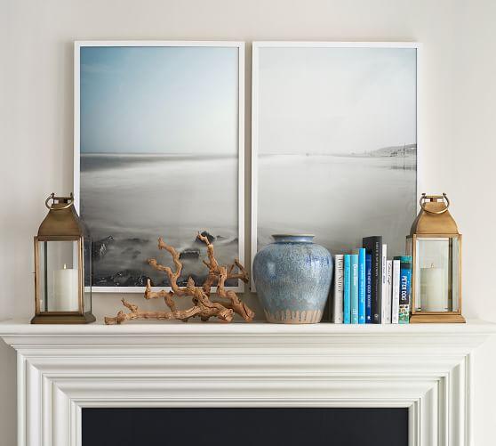 Shore Diptych Framed Print