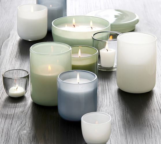 Modern Glass Candle - Moroccan Mint
