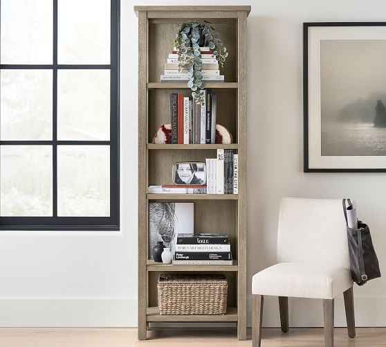 "Farmhouse 28"" x 80"" Tall Bookcase 
