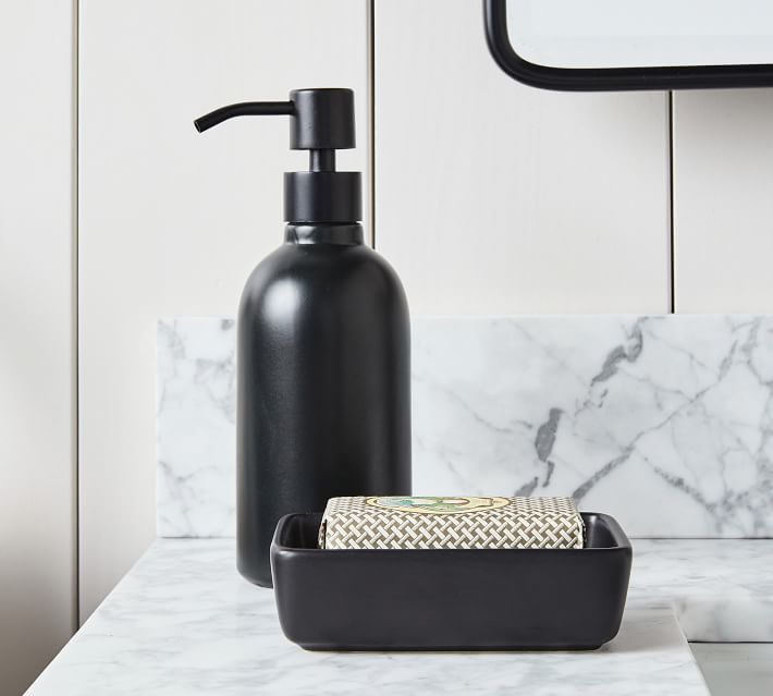 Porcelain Bathroom Accessories | Pottery Barn