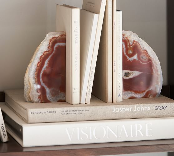 Geode Bookends Set Of 2 Pottery Barn