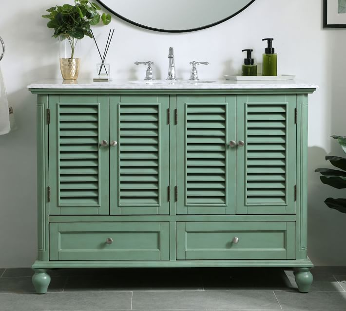 Page 48 Single Sink Vanity With Doors Pottery Barn