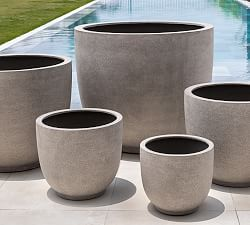 Large Outdoor Planters Pottery Barn