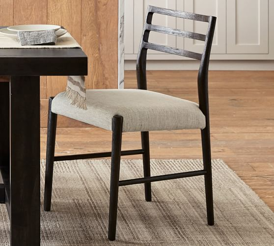 Quincy Basketweave Dining Chair Pottery Barn