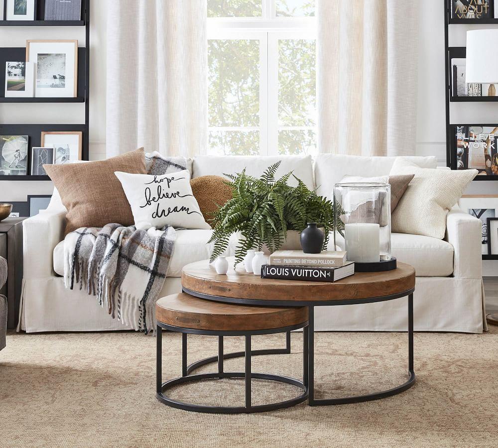 York Slope Arm Slipcovered Sofa