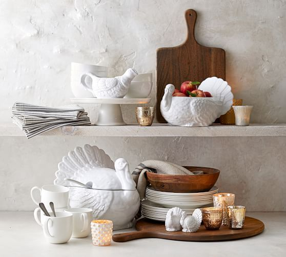 Aaron Probyn Bone China Appetizer Plate Pottery Barn