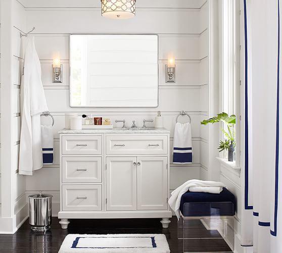 Sussex Lever Handle Widespread Bathroom Faucet Pottery Barn