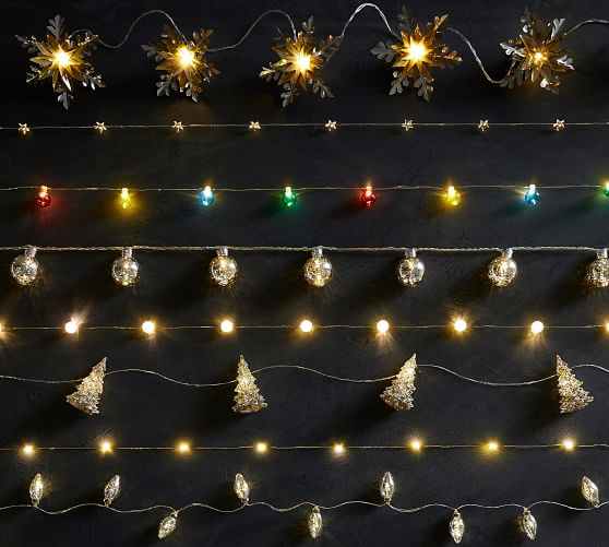 Mini Star String Lights Pottery Barn