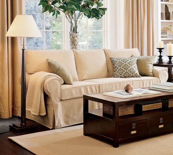 Pb Basic Furniture Slipcovers Pottery, Slipcover Sofa Furniture