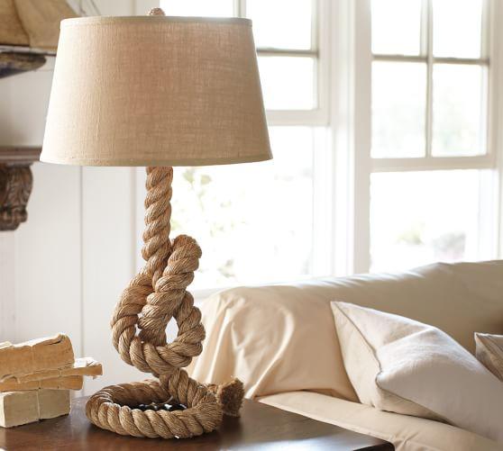 Rope Table Lamp Base Pottery Barn