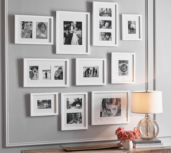 8x10 Picture Frame Housewarming gift Frame with glass Solid Wood Frame Photo Frame Gallery wall Nursery Wall Decor Modern Rustic