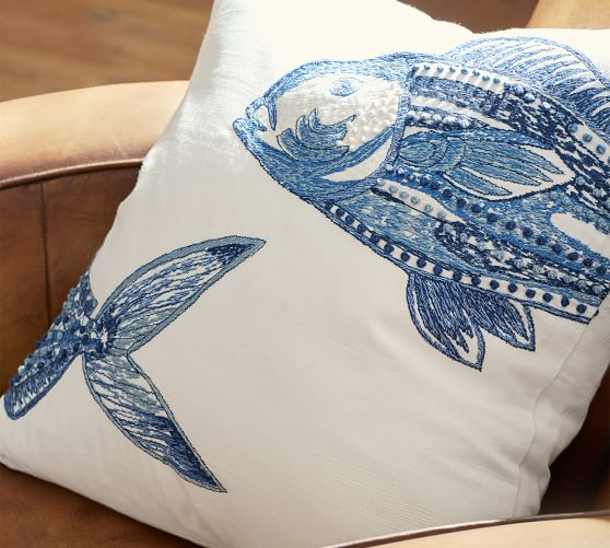Variety of Fish Pillow Covers