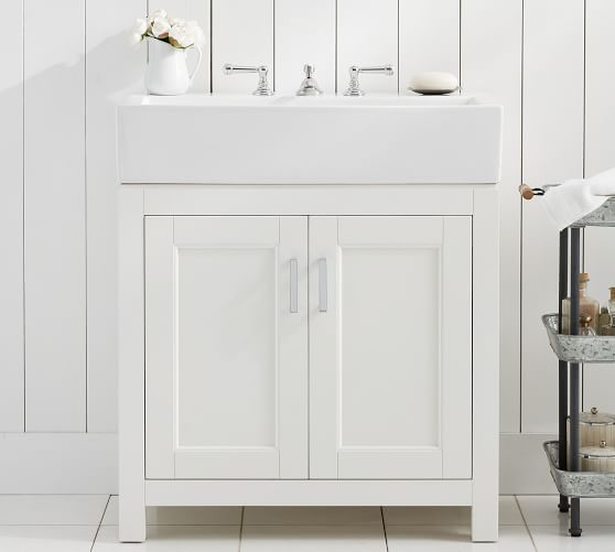 Modern Farmhouse 31 5 Single Sink Vanity Pottery Barn