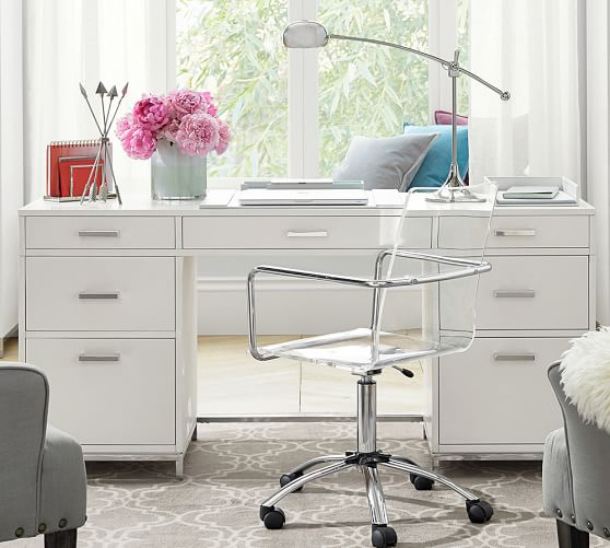 Pottery Barn Desks Used Off 63, Pottery Barn Office Furniture