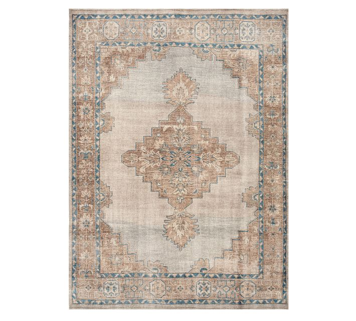 Finn Hand Knotted Wool Rug Pottery Barn