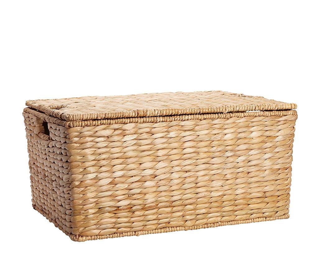 Savannah Handwoven Seagrass Lidded Baskets