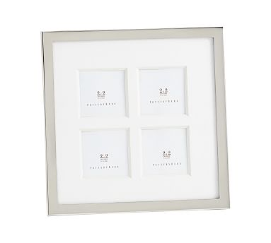 Personalize it! Boston Silver Plated 8 x 10 Frame