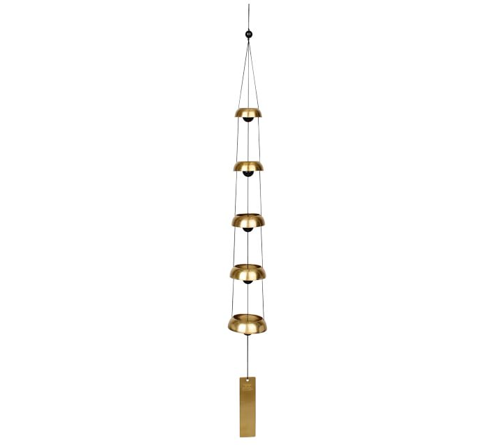 Sanctuary Bells Wind Chime Collection Pottery Barn