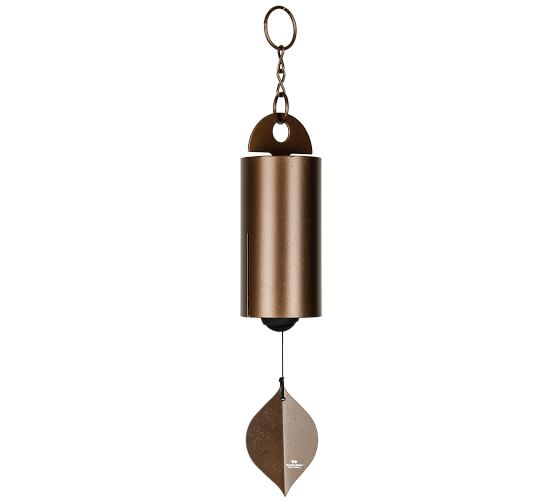 Serene Bell Wind Chime Collection Pottery Barn