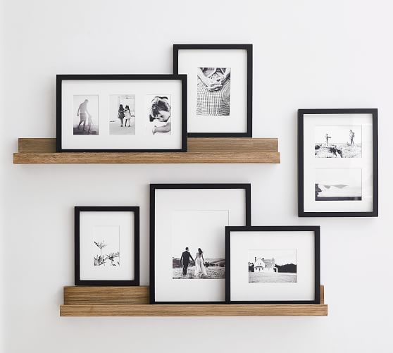 MODERN WOOD WOODEN PICTURE POSTER PHOTO FRAME MANY COLOURS SIZES Stand Wall Hang