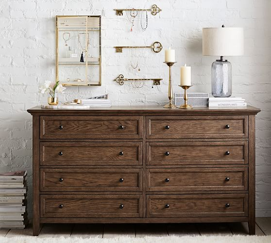 Hudson 8 Drawer Wide Dresser Pottery Barn