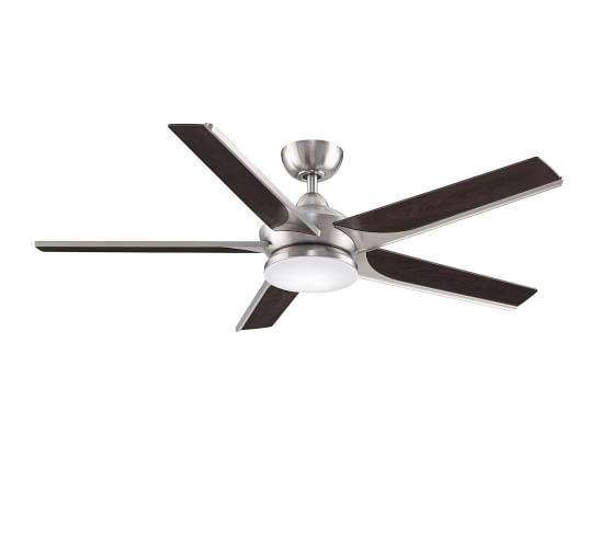 Subtle 56 Ceiling Fan With Lights Pottery Barn