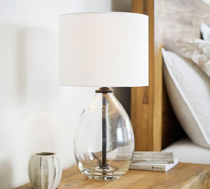 Bennett Recycled Glass Table Lamp