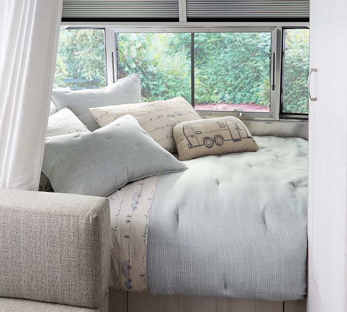 Airstream Good Life Organic Cotton Pillowcases - Set of 2