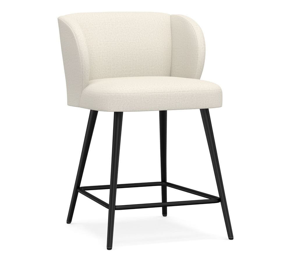 Wingback Upholstered Bar & Counter Stools