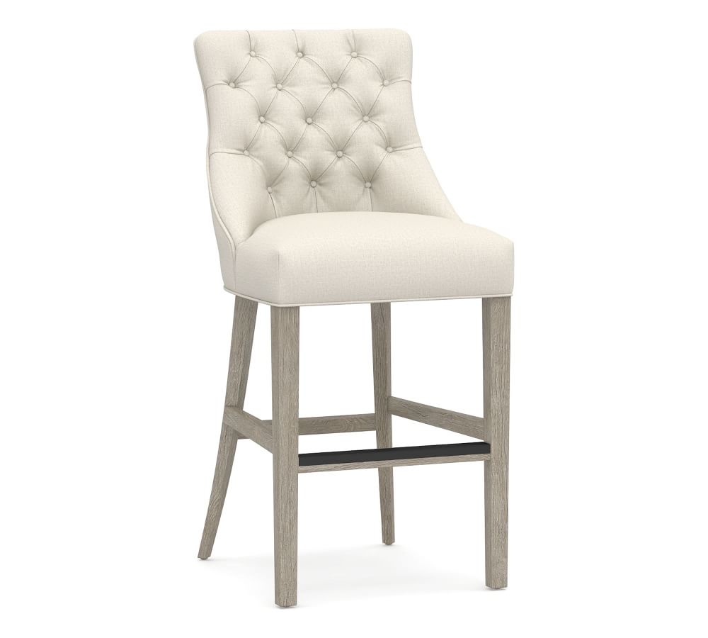 Hayes Tufted Upholstered Bar & Counter Stools
