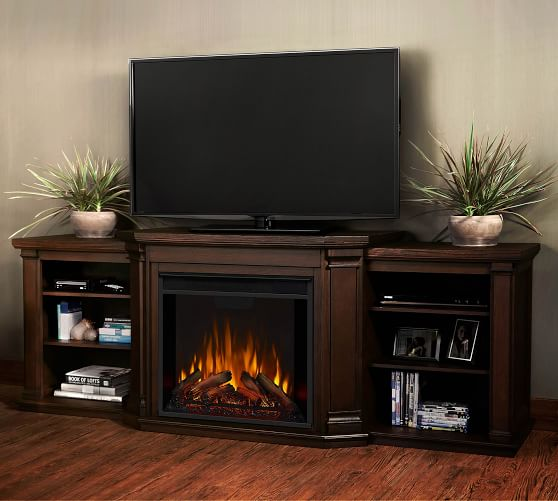 74 Valmont Electric Fireplace Media, Fake Fireplace Heater Tv Stand