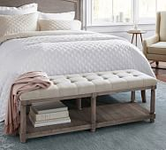 Bedroom Benches End Of Bed Seating Storage Pottery Barn