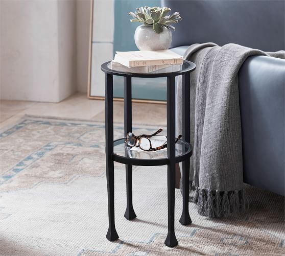Tanner 12 Round Accent Table Pottery, Round Accent Tables