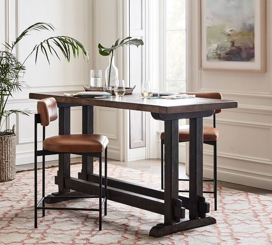 Carson Counter Height Table Pottery Barn, Counter Height Desk