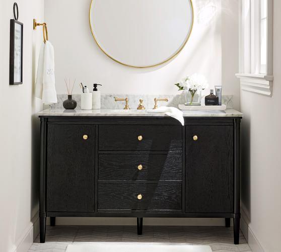 Harlow 52 Single Wide Sink Vanity Pottery Barn