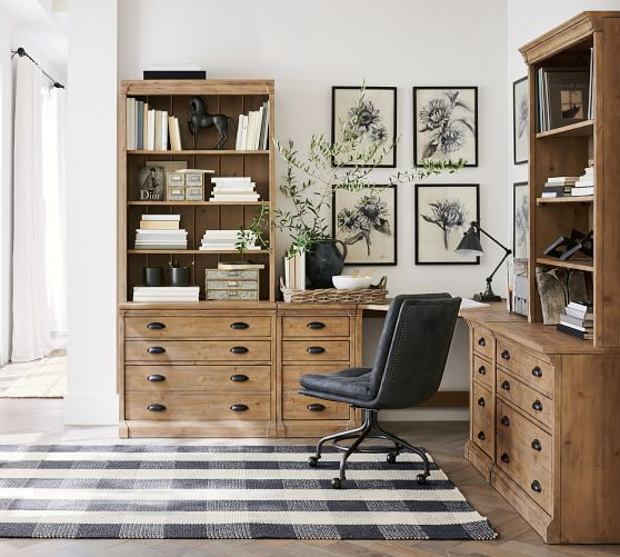 Build Your Own Lucca Modular Office, Pottery Barn Office Furniture