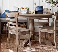 Round Dining Tables Kitchen Tables Pottery Barn