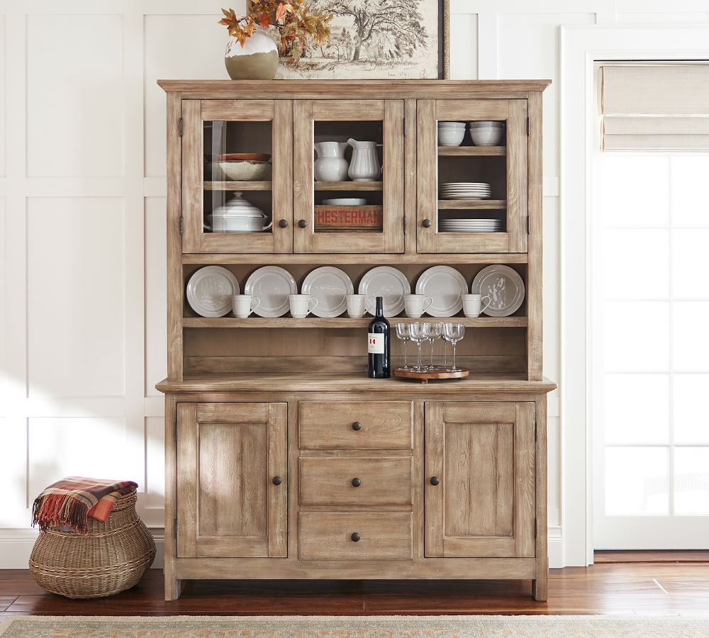 Benchwright Buffet Table Hutch, Dining Room Hutch Buffet