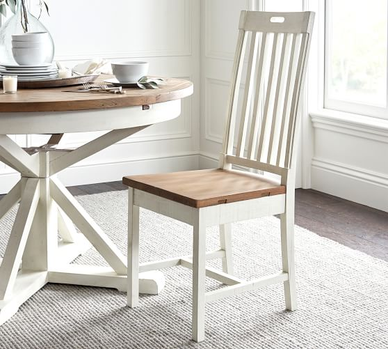 Hart Reclaimed Wood Wooden Dining Chair, Wooden Dining Room Chairs