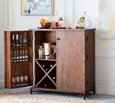Timor Bar Cabinet Furniture, Liquor Bar Furniture