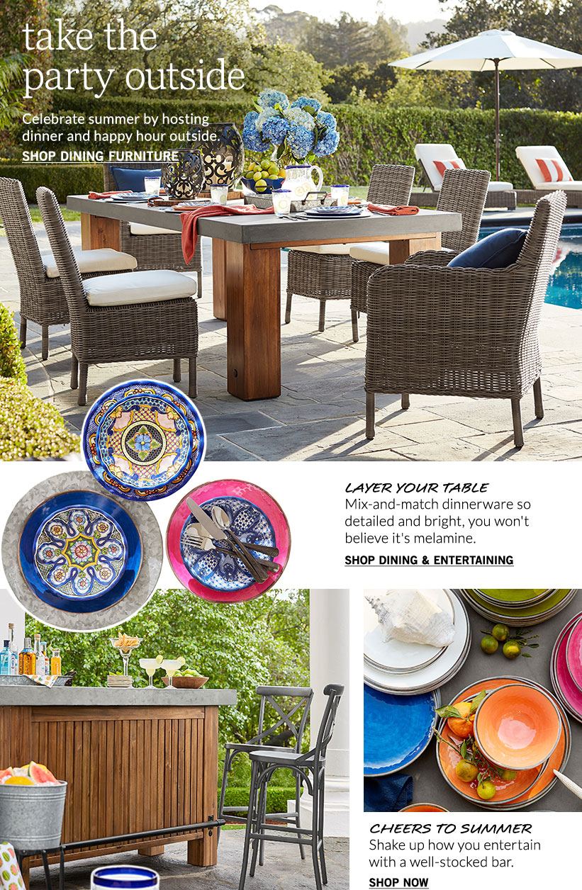 Outdoor Living | Pottery Barn on Rk Outdoor Living id=84078